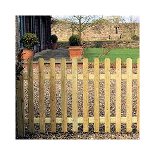 palisade picket fencing