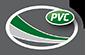 A logo for PVC