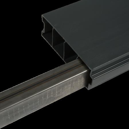reinforced rod for composite gravel board