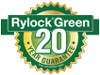 An illustration of a Rylock Green Logo